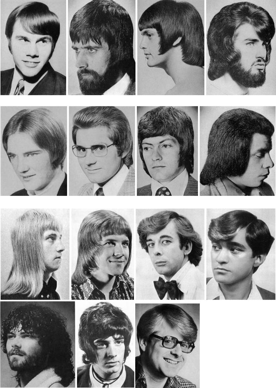 Phenomenal Vintage Photos C 1970S Vintage Mens Bad Hair Green Vision Natural Hairstyles Runnerswayorg