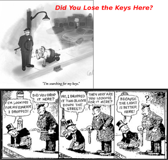 LOST KEYS 1