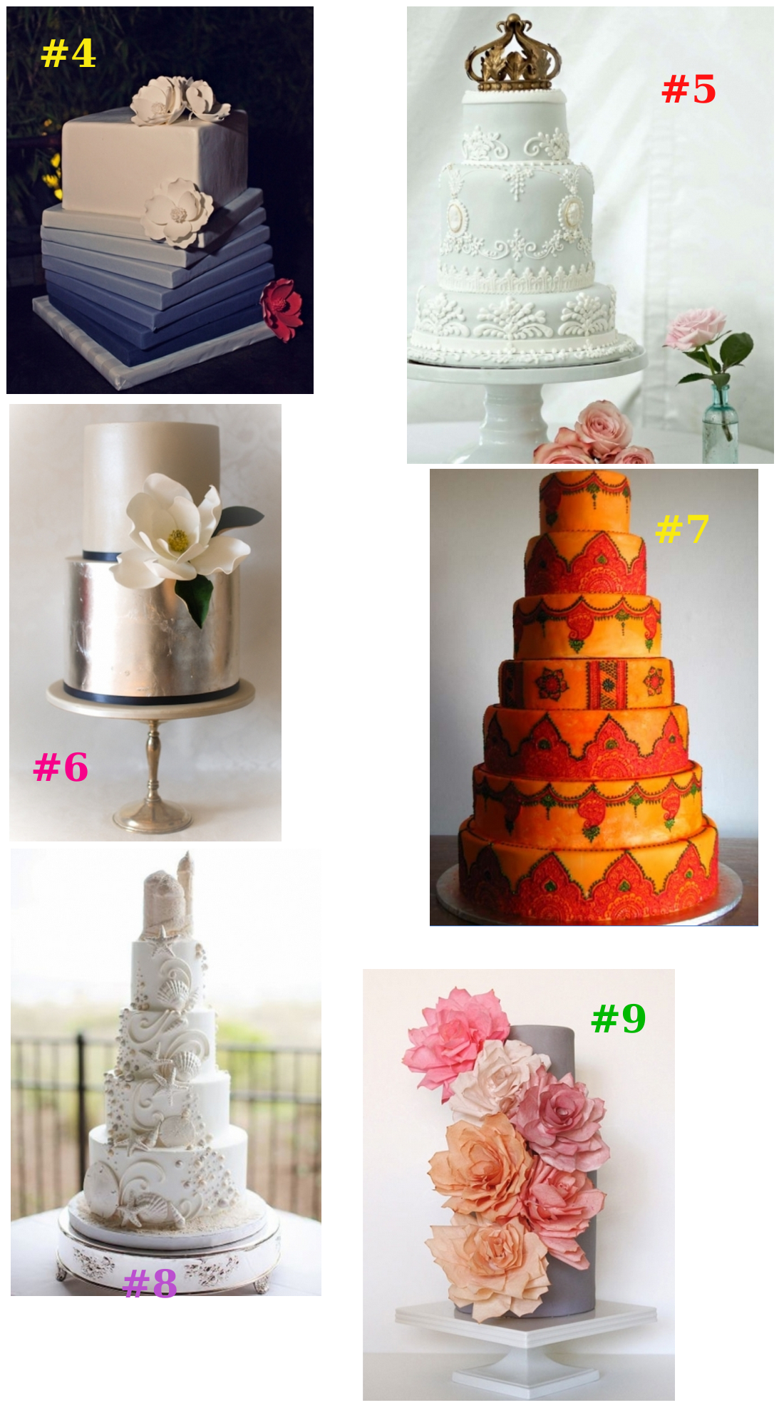 Showstopping Wedding Cakes | Green Vision