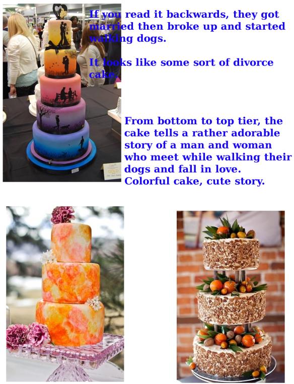 WEDDING CAKE A 1