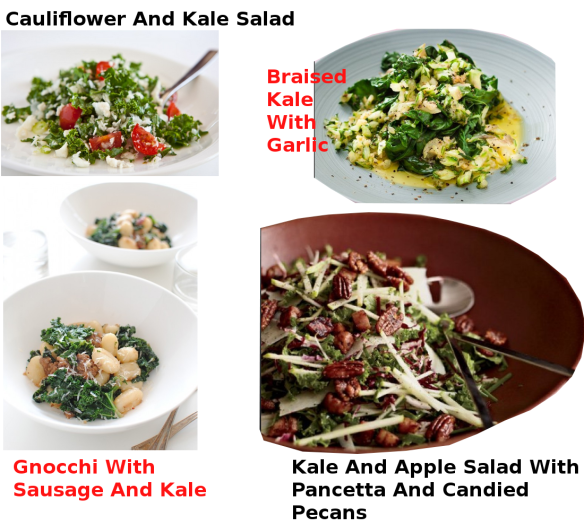 KALE RECIPES 1