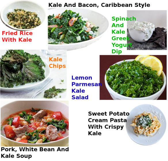KALE RECIPES 2