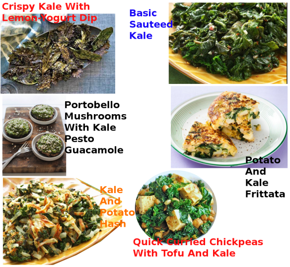 KALE RECIPES 3