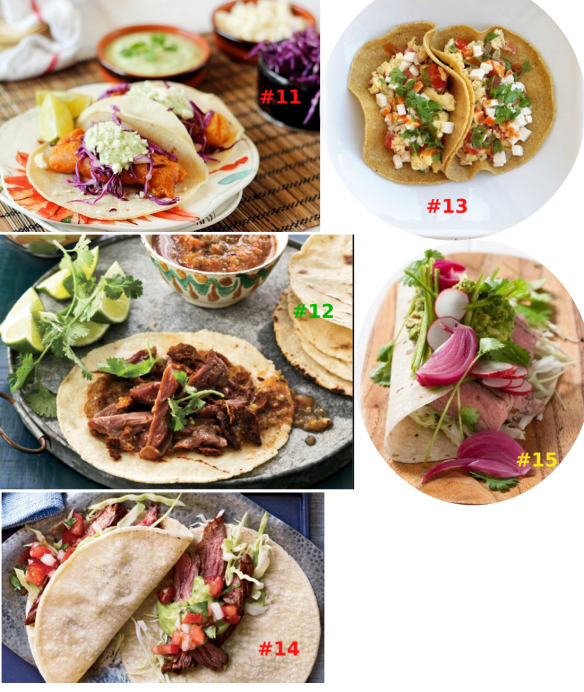 TACO RECIPES 3